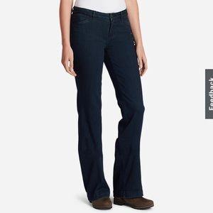NWT Eddie Bauer Curvy Trouser Jeans